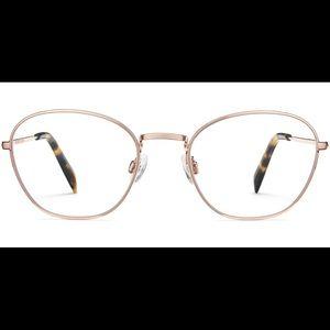 Warby Parker Colby Glasses Frames -Rose Gold 2233